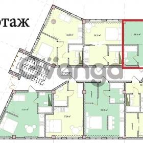 Продается квартира 1-ком 36.36 м² Макаренко