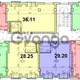 Продается квартира 1-ком 35 м² Лиза Чайкина