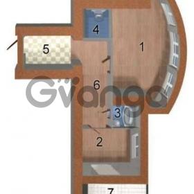 Продается квартира 1-ком 46 м² Лобановского ул., д. 25