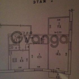 Сдается в аренду квартира 3-ком 57 м² Талсинская,д.4