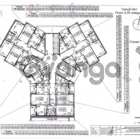 Продается квартира 3-ком 82 м² ул. Чавдар Елизаветы, 34, метро Осокорки