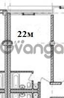 Продается квартира 1-ком 22 м² Волжская