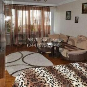 Сдается в аренду квартира 1-ком 34 м² ул. Русановская Набережная, 20