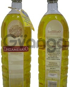 Кунжутное масло Σησαμέλαιο 1л, Греция