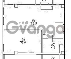 Продается квартира 2-ком 42 м² мологвардейская