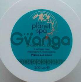 Planet SPA Маска для волос с экстрактами плюмерии и лемонграсса. 200 мл