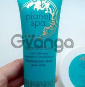 Planet SPA Очищающая маска Экзотика Бали с экстрактами плюмерии и лемонграсса. Это освежающая и очищающая маска для лица удаляет загрязнения и очищает поры.