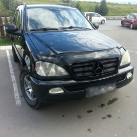 Mercedes-Benz M-klasse  320 3.2 AT (218 л.с.) 4WD 1998 г.