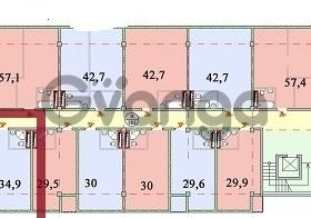 Продается квартира 1-ком 34.5 м² Макаренко 39