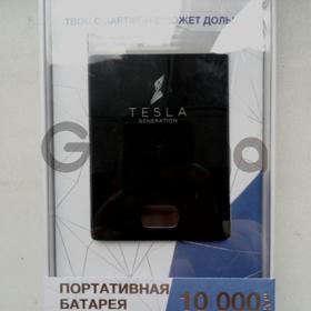 Tesla Generation 10000 mAh (D01) black переносная батарея