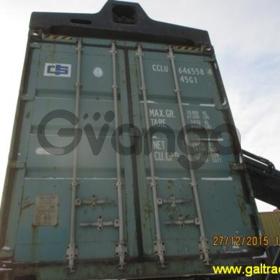 Арендуем и продаем б/у контейнеры для морских и ж/д перевозок объемом 20 и 40 футов.