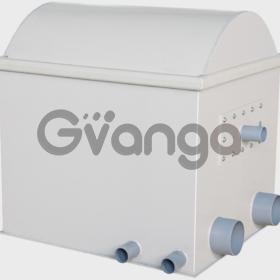 Барабанный механический фильтр с активной промывкой 150 м3 в час