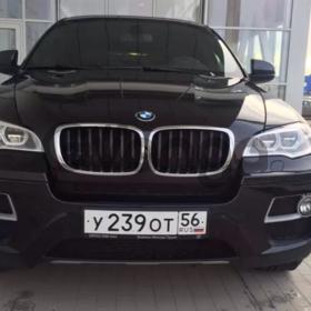 BMW X6  30d 3.0d AT 4WD, 2014 г.в.