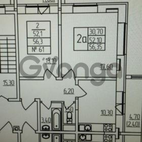 Продается квартира 2-ком 56 м² 3744,д.6