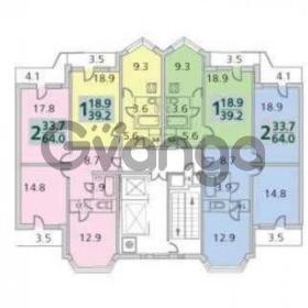 Продается квартира 1-ком 39 м² Школьный,д.к9