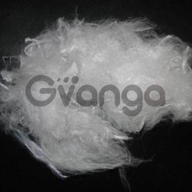 Полиэфирное силиконизированное волокно
