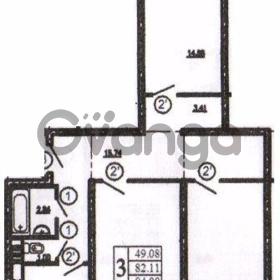 Продается квартира 3-ком 84 м² 1 Микрорайон, метро Ломоносовская