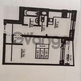 Продается квартира 1-ком 38.98 м² 1 Микрорайон, метро Ломоносовская