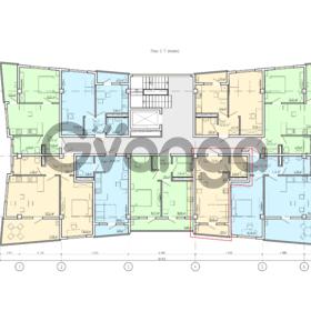 Продается квартира 1-ком 26.65 м² Донская
