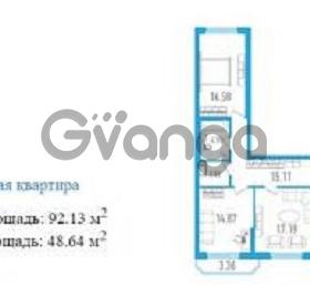 Продается квартира 3-ком 92.1 м² Будапештская ул., 102, метро Купчино