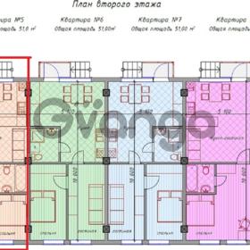 Продается квартира 2-ком 51 м² Вишневая