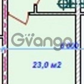 Продается квартира 1-ком 23 м² Санаторная