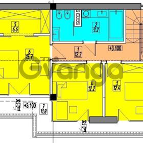Продается квартира 6-ком 183.5 м² Фабрициуса