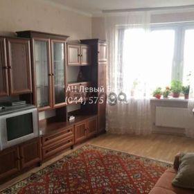 Сдается в аренду квартира 1-ком 46 м² ул. Верховинная, 33, метро Житомирская