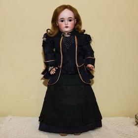 Антикварная немецкая коллекционная кукла Kestner, mold 166