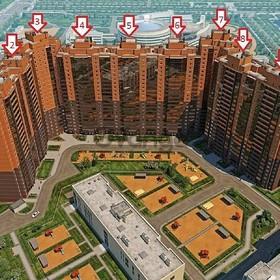 Продается квартира 1-ком 52.32 м² Лыжный пер., 8, метро Старая Деревня