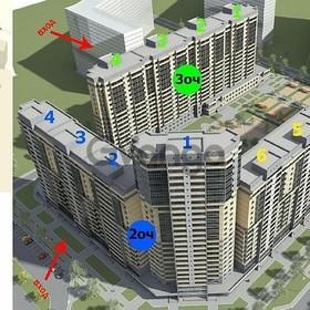 Продается квартира 1-ком 22 м² Шувалова ул., 16, метро Девяткино