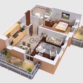 Продается квартира 1-ком 34 м² Пионерская
