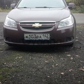 Chevrolet Epica 2.0 MT (143 л.с.) 2012 г.