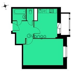Продается квартира 1-ком 39 м² ЖК Митино-О2 , 13