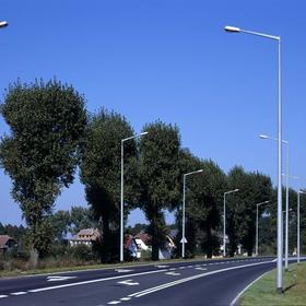 Опори освітлення оцинковані(столби) Польща