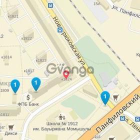 Продается квартира 3-ком 82 м² Новокрюковская1824, метро Речной вокзал