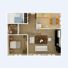 Продается квартира 2-ком 51 м² Вишнёвая
