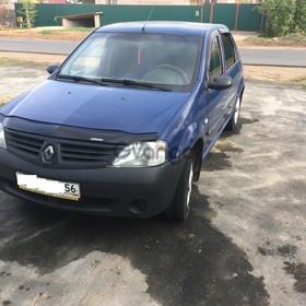 Renault Logan 1.4 MT (75 л.с.) 2006 г.