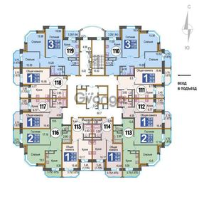 Продается квартира 1-ком 45 м²
