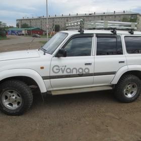 Toyota Land Cruiser 4.5 MT (205 л.с.) 4WD 1996 г.