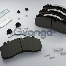Тормозные колодки R22.5 Mercedess/MAN/DAF/SCANIA/IVECO/SAF