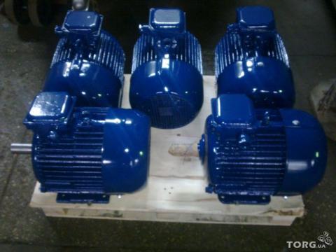 Электродвигатель серии 4АМ 132 S4. 7.5 кВт. 1470 об.м.