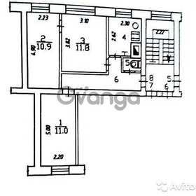 Продается квартира 3-ком 47.3 м² Рылеева ул.