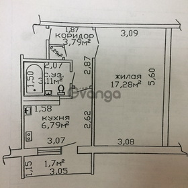 Продается квартира 1-ком 31 м² ул. Чапаева , 12