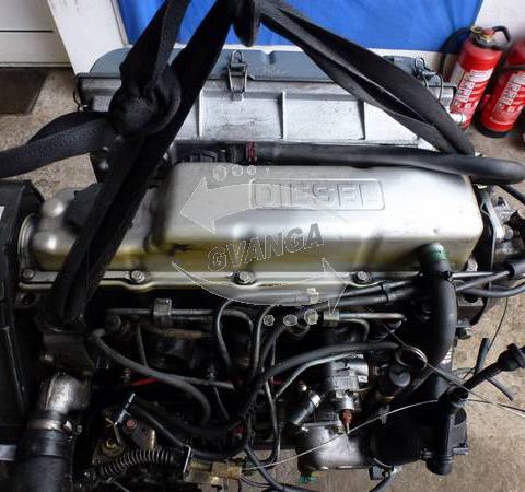 Двигатель Ford Fiesta 1.6 Diesel