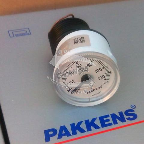 термометр 120С диаметр 40мм капиллярный Pakkens