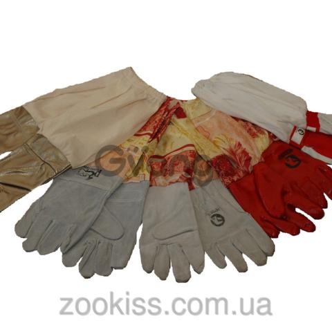 Перчатки резиновые с нарукавниками 50 грн