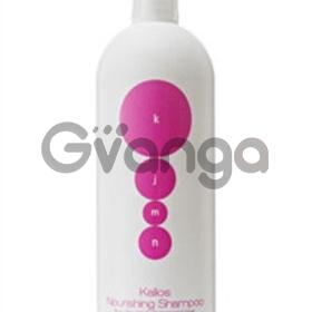 Питательный шампунь для сухих и поврежденных волос Kallos Nourishing 1 л