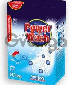 """Бесфосфатный стиральный порошок-концентрат """"Power Wash Professional"""" 9,1 кг (для белых вещей)"""