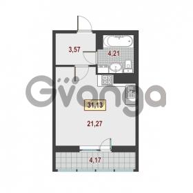 Продается квартира 1-ком 31.13 м² Европейский проспект 1, метро Улица Дыбенко